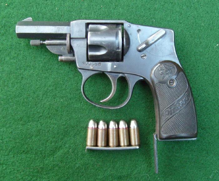 German Arminius'Pirkert' 32 revolver 1920's  Rare For Sale at