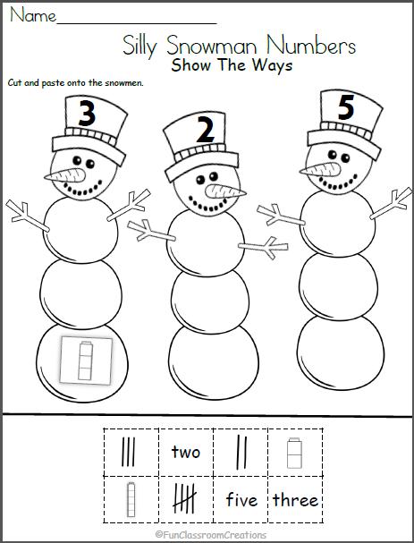 Pin On Kindergarten Winter