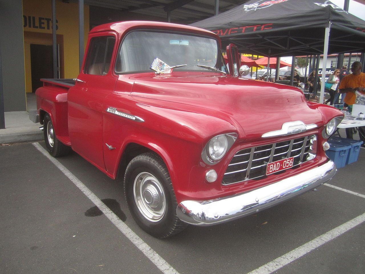 All Chevy 1956 chevrolet 3100 : 1956 Chevrolet 3100 Pickup - Chevrolet Task Force - Wikipedia ...