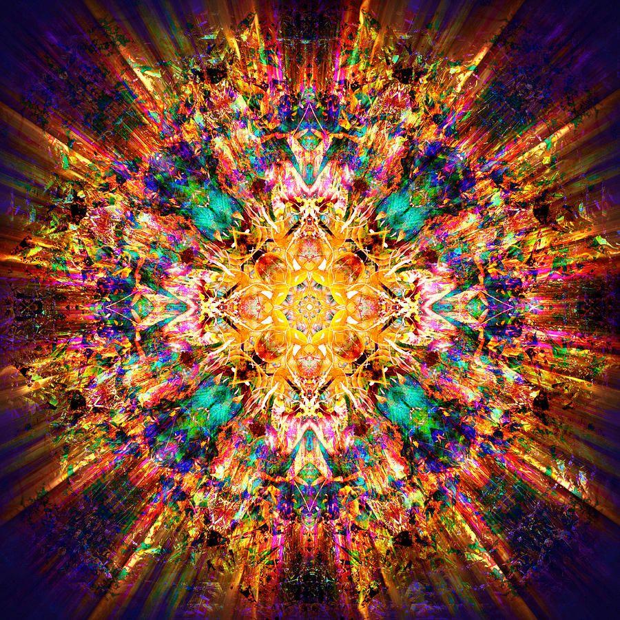 Mandala - Om Manui Padme Hum by Jalai Lama