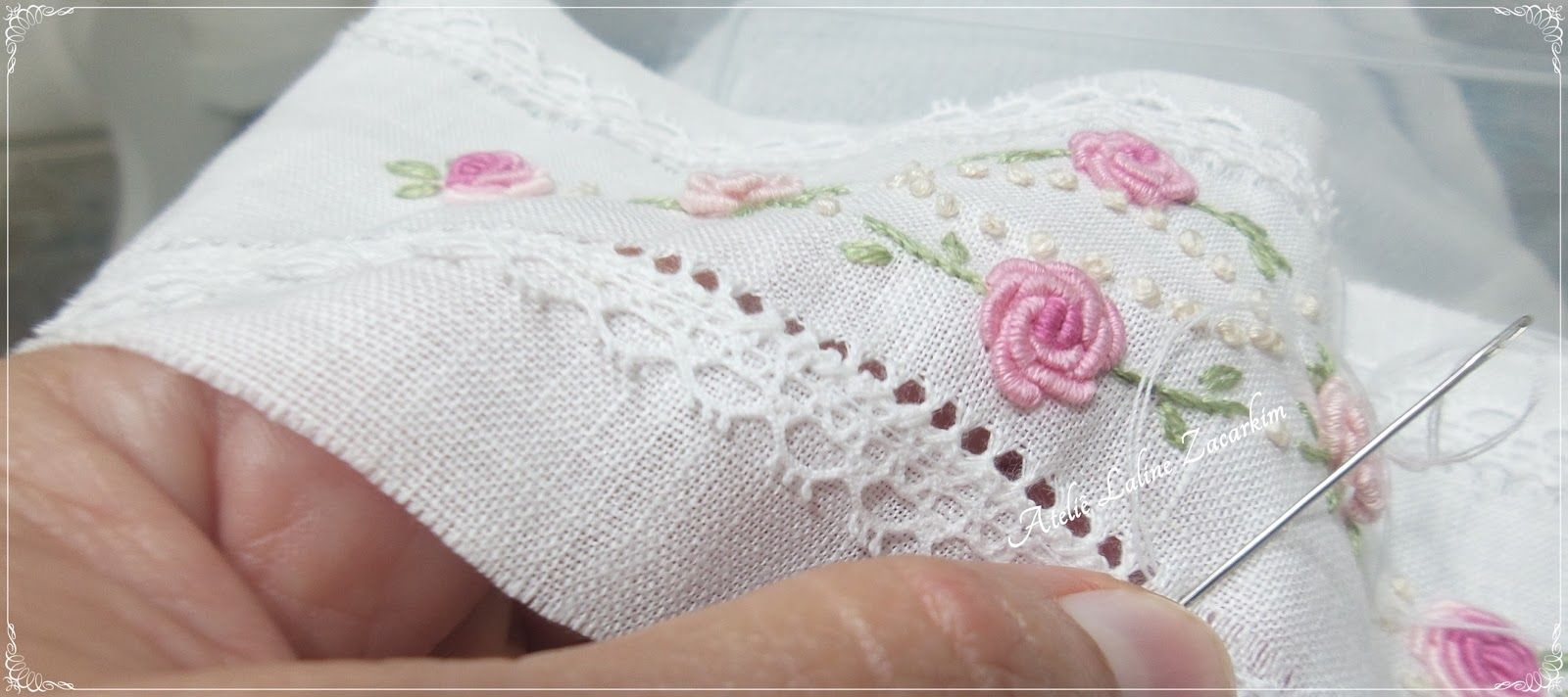 Ateliê Laline Zacarkim | Sewing | Pinterest | Embroidery, Smocking y ...