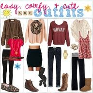 Easy  Comfy Cute outfits