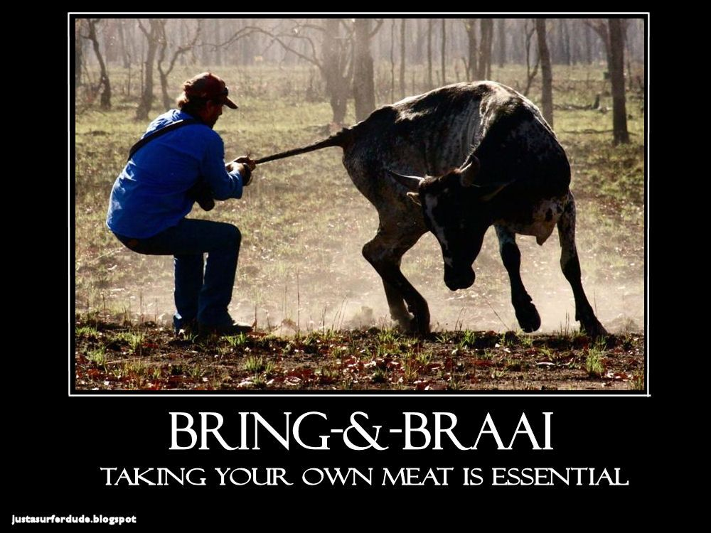 Bring and braai tip Letting go, Funny pictures, Let it be