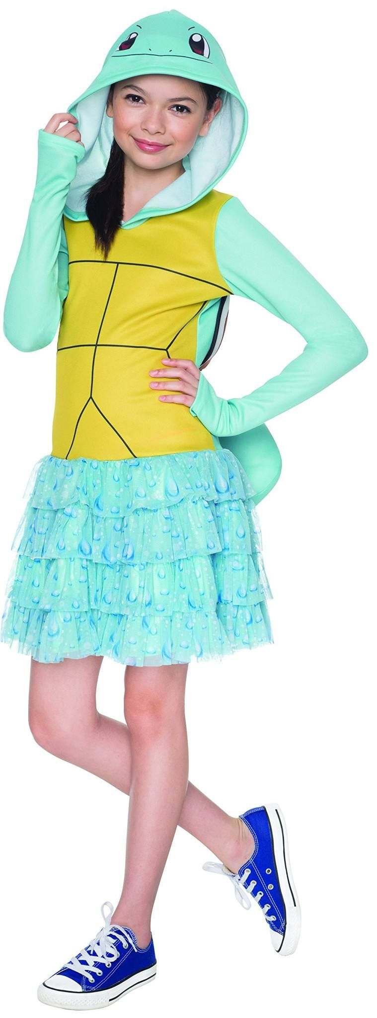 Child Medium - Pokémon Squirtle Hooded Costume Dress