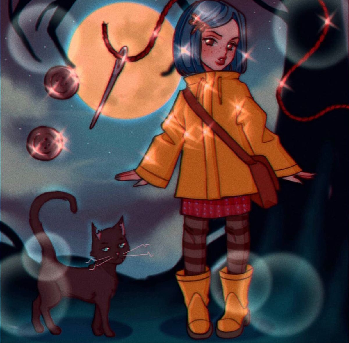 Pin By Amber On Coraline 3 In 2020 Coraline Art Coraline Aesthetic Old Anime