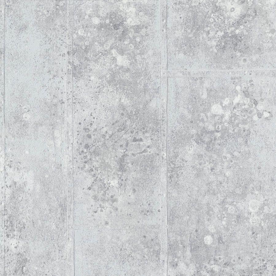 p.s origin 42100-40 l tapete vlies beton optik modern grau creme