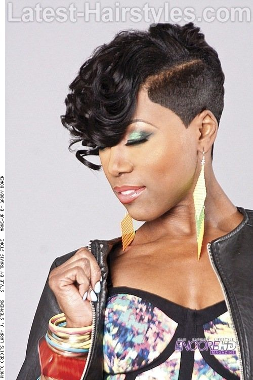 19 Hottest Short Natural Haircuts For Black Women With Short Hair Funky Short Hair Short Hair Styles Short Weave Hairstyles