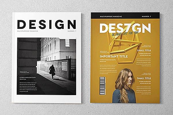 17 Free Magazine Indesign Template for Editorial Project   Layout ...