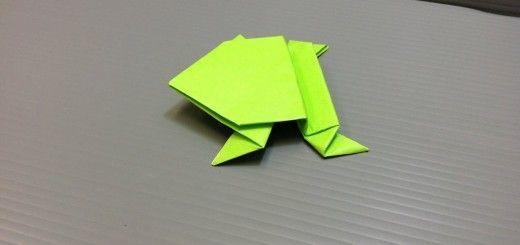 Origami-sammakko
