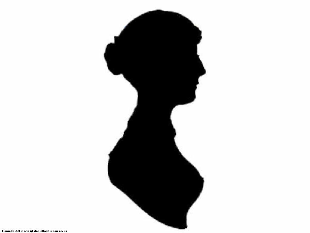 Pics For > Jane Austen Silhouette Tattoo | Images--Silhouettes ...