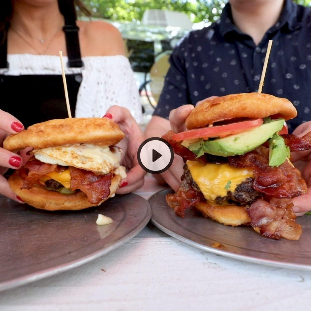 Texans are in love with these burgers   #Burrra #instagram #yum #dessert #pizza #foodpics #instadail...