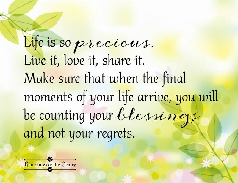 Life Is So Precious Quotes Blessed Life Is Precious Life Quotes