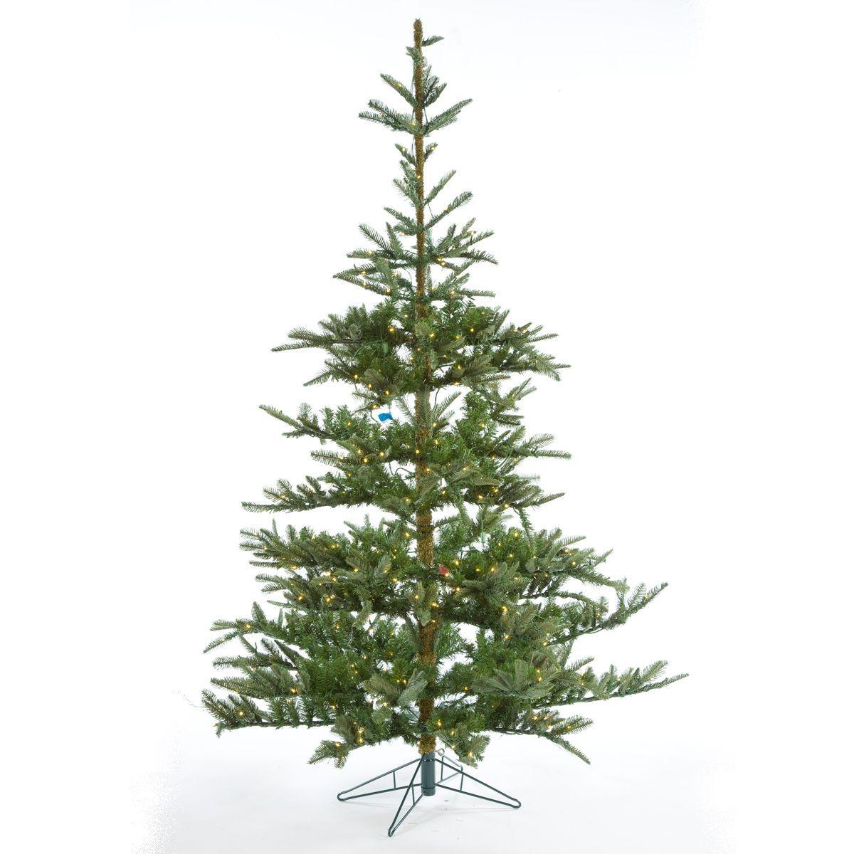 Pre Lit Windsor Artificial Fir Christmas Tree - 7ft | Notcutts ...