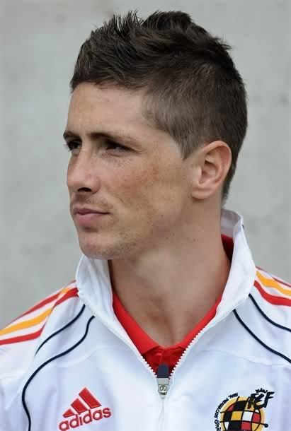 Nice Fernando Torres Short Hairstyles Name Pictures