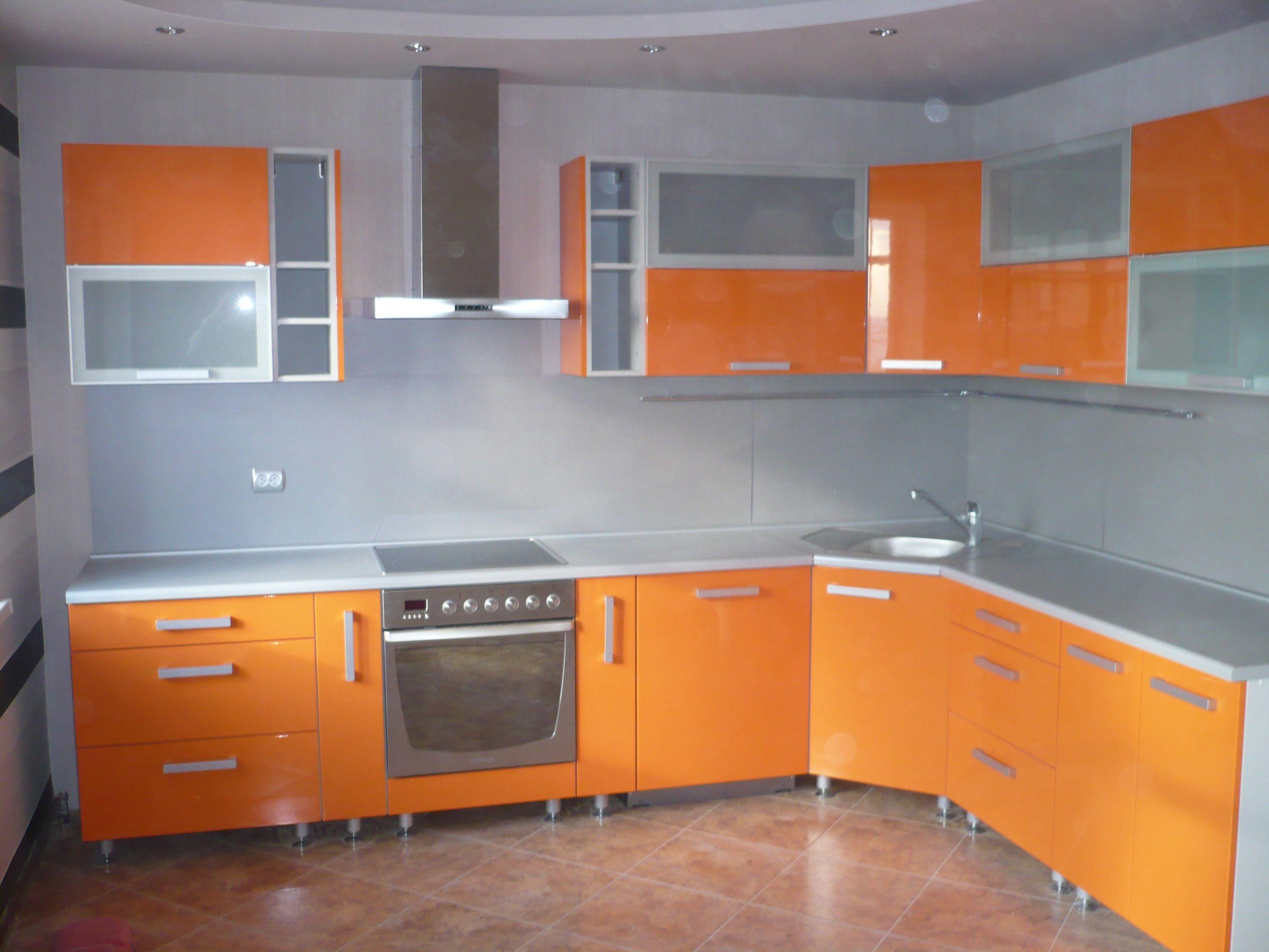 Dise o de cocinas cocinas naranjas madrid cocinas - Disenos cocinas modernas ...