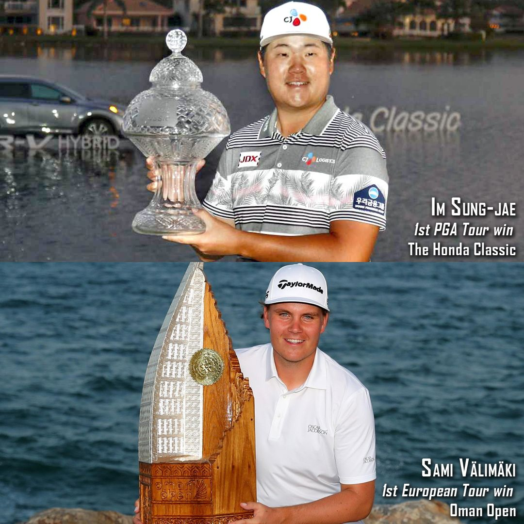 Congratulations To This Weekend S First Time Winners Sungjae Im Won His Maiden Pga Tour Title At The Honda Classic And S In 2020 Career College Pga Tour European Tour