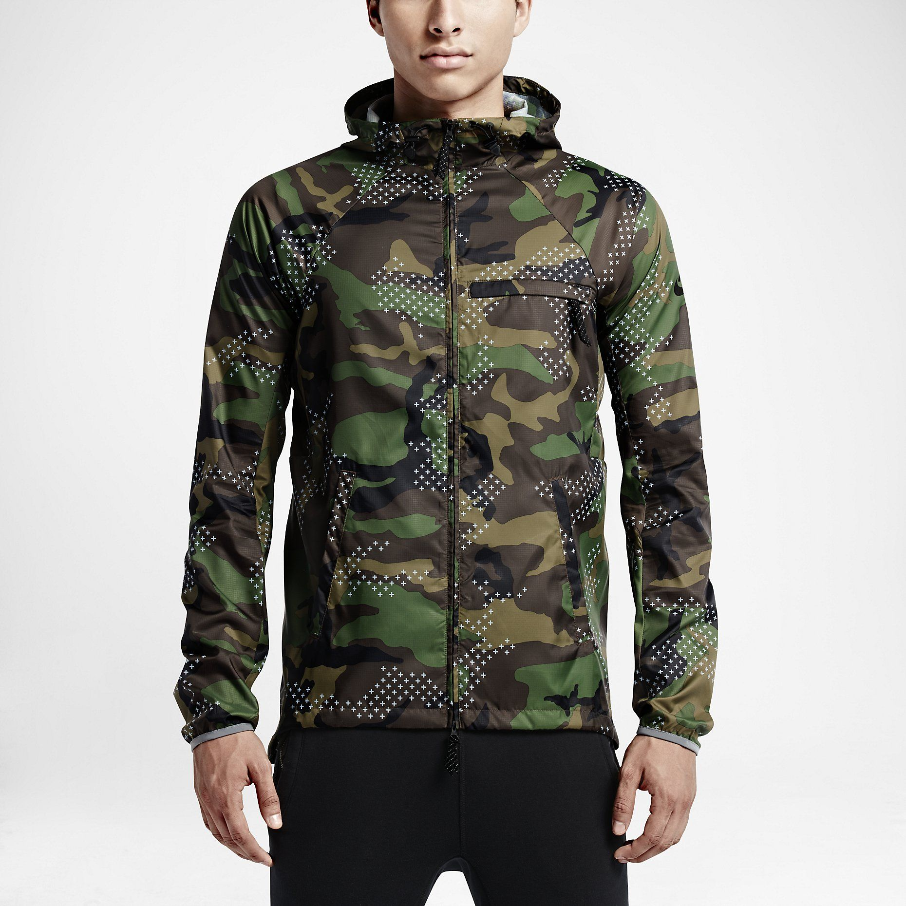 Nike jacket army - Nike Sb Steele Lightweight Erdl Phillips Men S Jacket Nike Com