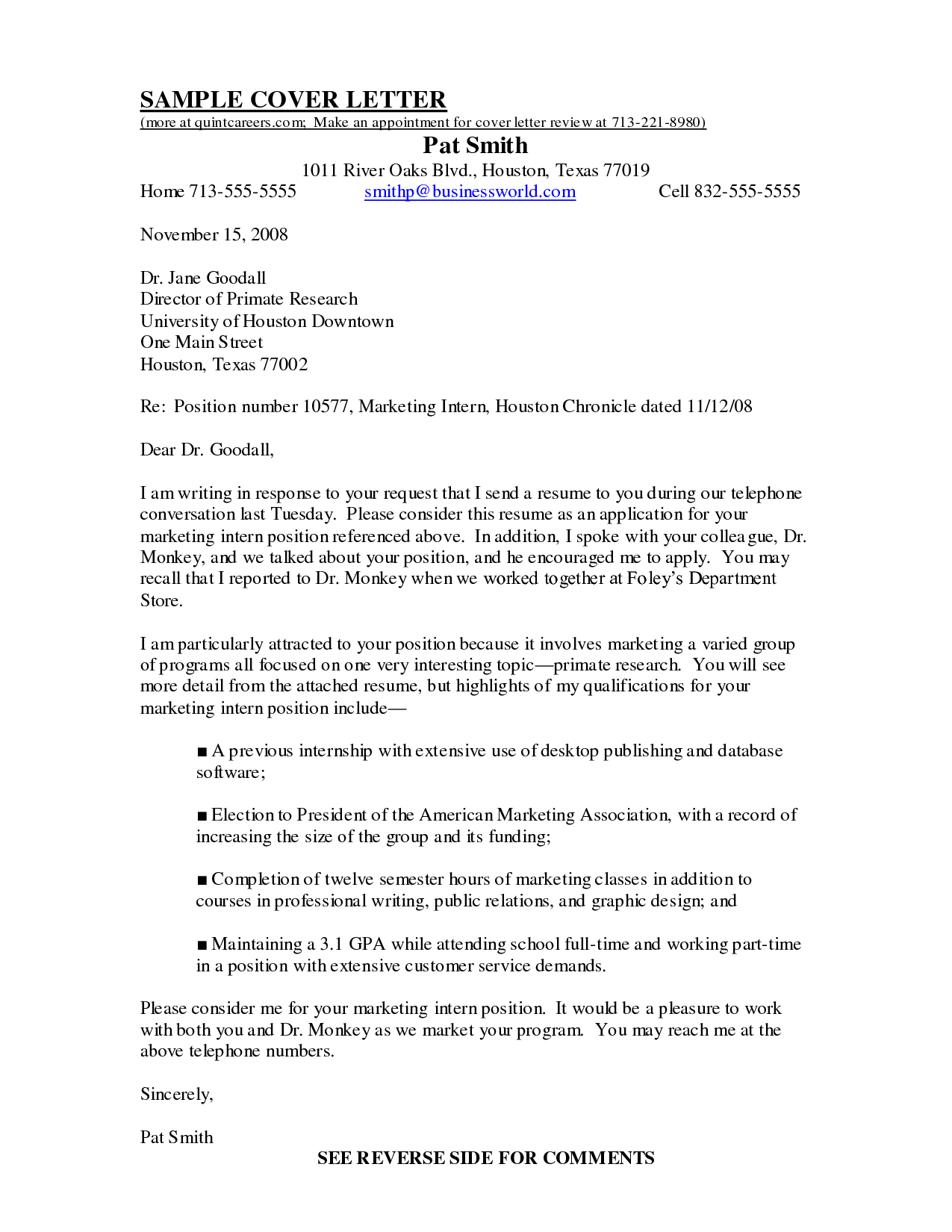Pin by Sample Cover Letters on Cover Letter Samples ...