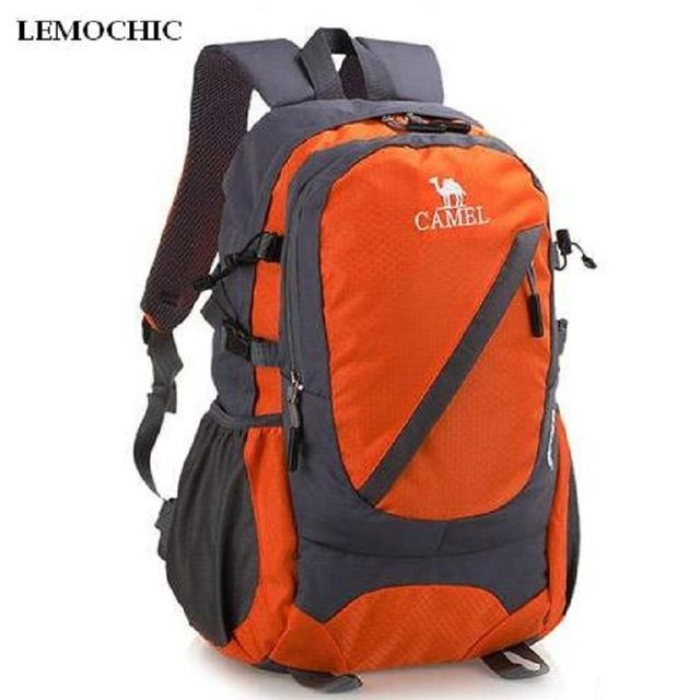 96162f9bbec Buy now LEMOCHIC High Outdoor sports bag 35l wear resistant waterproof  travel Climbing rucksack Sightseeing camping