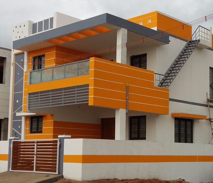 Two Floors House Modern House Design House Front Design Small Modern House Plans