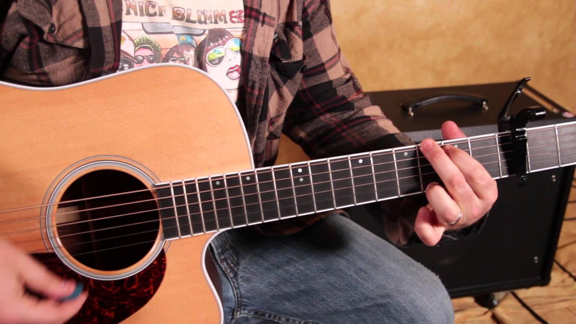 Easy Beginner Acoustic Songs On Guitar Imagine Dragons Demons