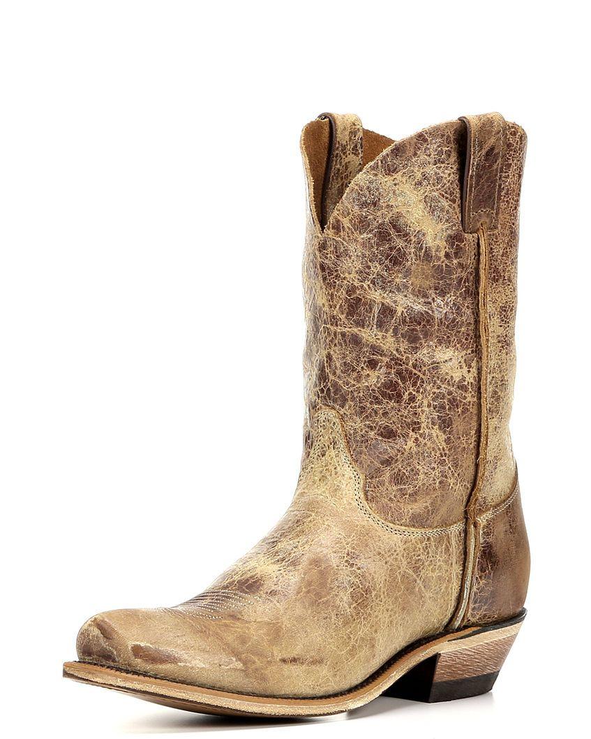 1817b1971d7 Justin Men's Distressed Cowboy Boots - Square Toe | Samuel Style ...