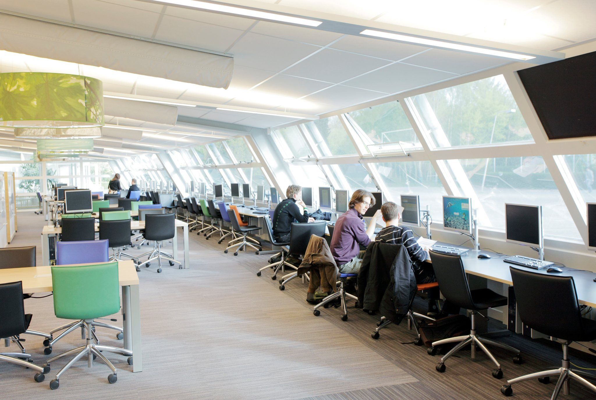 Library At VHL University Of Applied Sciences Velp The Netherlands Interior Architect Johan