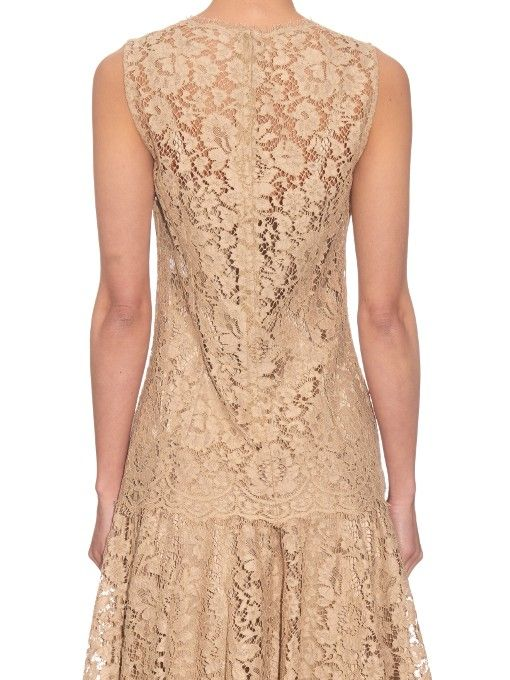 Dolce & Gabbana Corded-lace sleeveless top