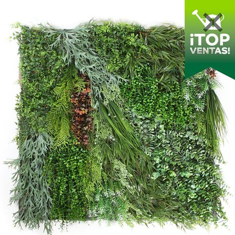 plantas placa de jardn vertical artificial