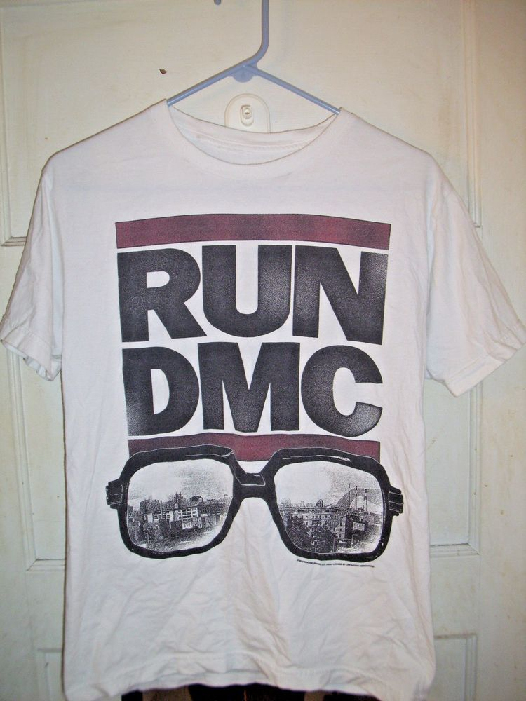 2ae616af RUN DMC Live Nation T Shirt Small Rap Hip Hop Brooklyn Glasses #LiveNation  #GraphicTee