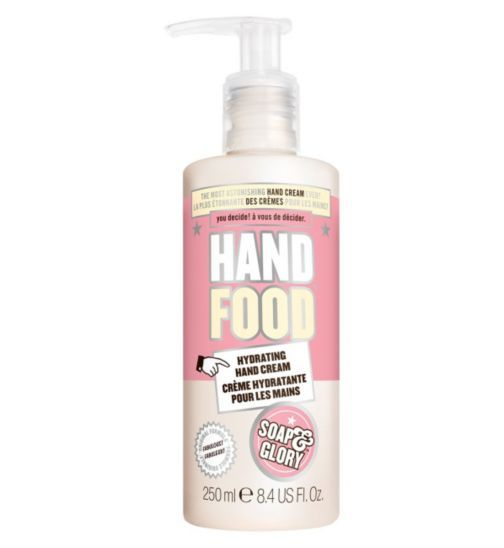 Soap And Glory Hand Food Hand Cream Pump 250ml Boots 8 Hand