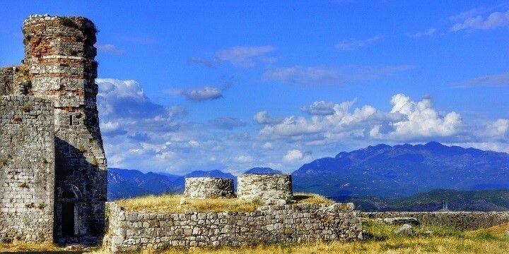 Rozafa Castle, Shkodra Lake, Albania