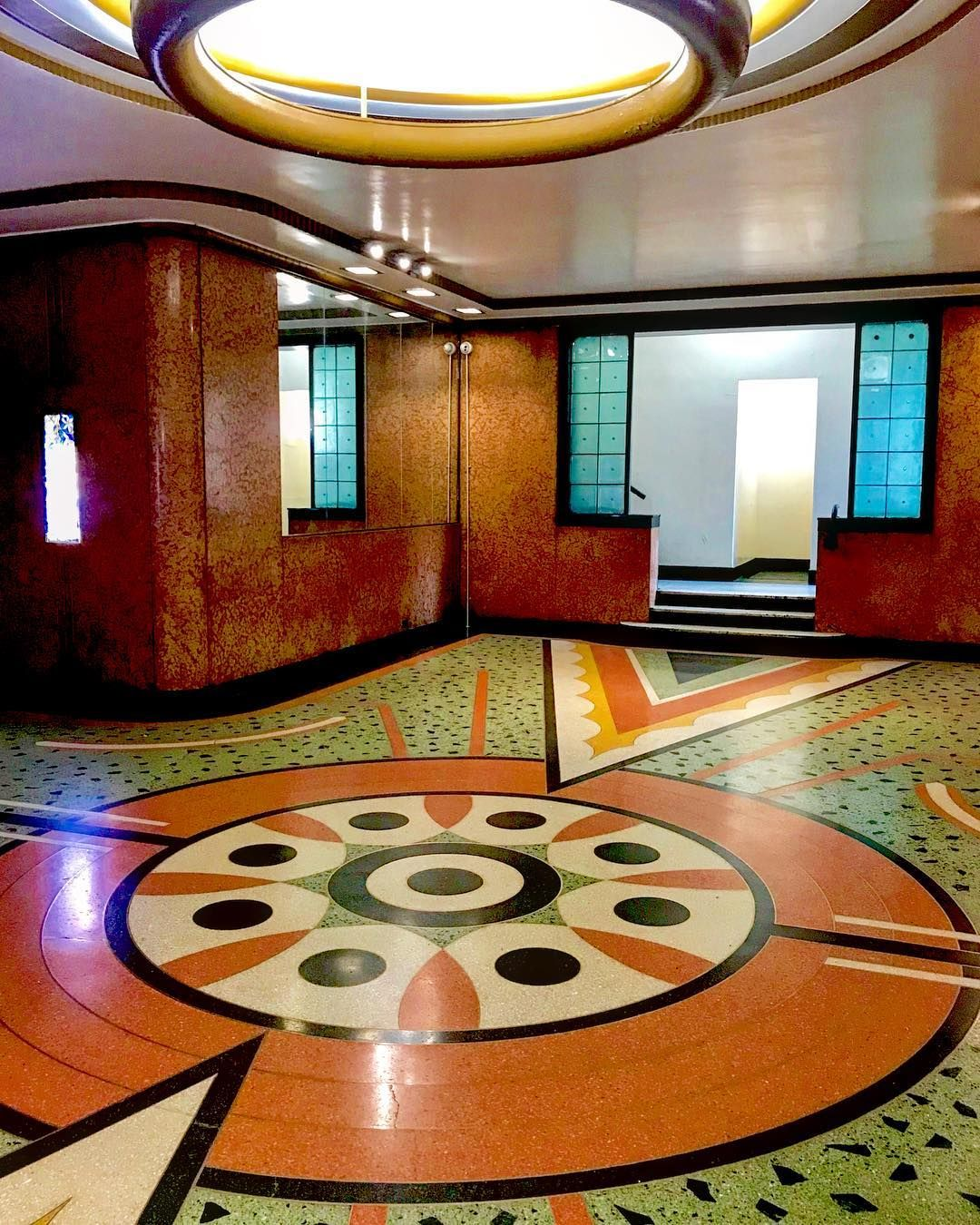 Art Deco Ny Terrazzo Floor Terrazzo Terrazzo Flooring