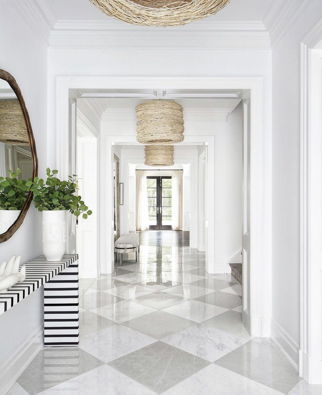 Pin by JulieAnn Barrus on Foyer White marble floor