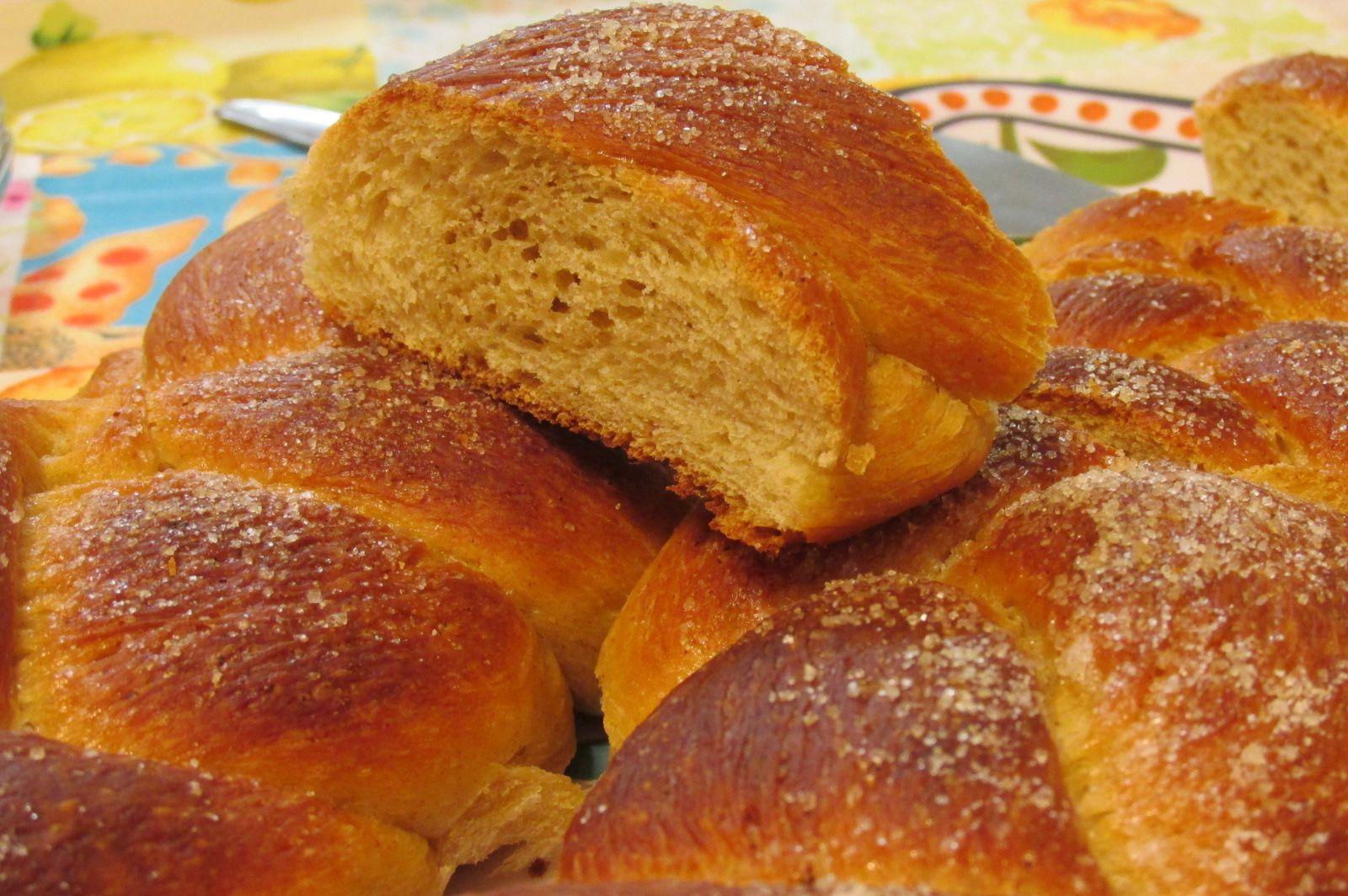 pão doce com canela - receita alemã.