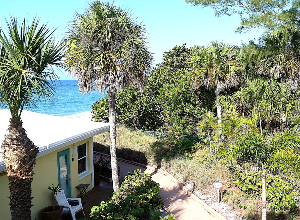 The View from Room 11's Balcony at The Pearl Beach Inn on ...
