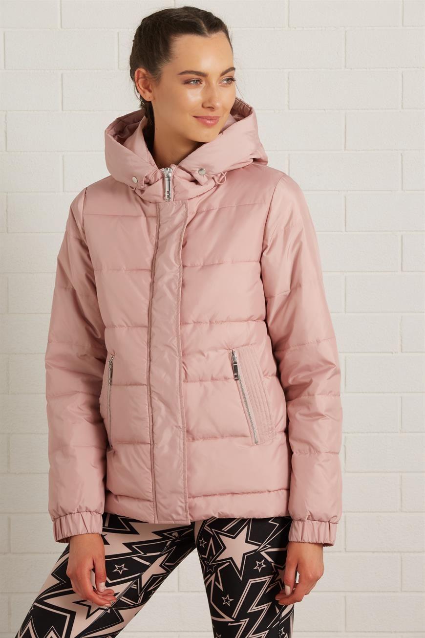 Blush Pink Puffer Jacket Jackets Puffer Jackets Pink Puffer Jacket [ 1305 x 870 Pixel ]