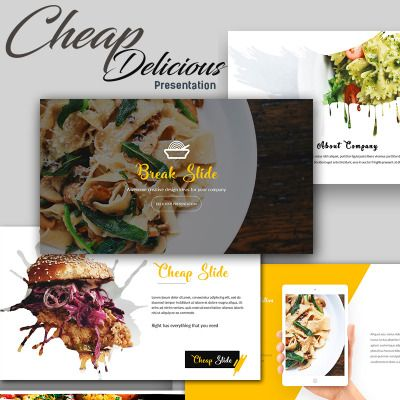 Food presentation powerpoint template pinterest ppt template food restaurant powerpoint presentation template is a modern presentation that is beautifully designed and functional toneelgroepblik Gallery