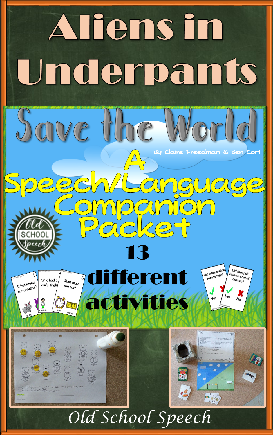 Aliens in Underpants Save the World: Speech Language Book Companion ...