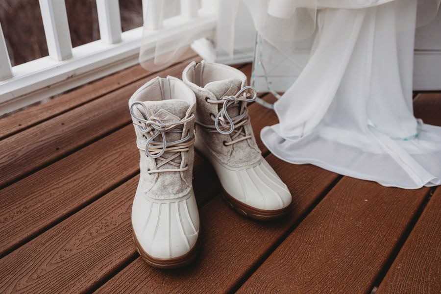 24++ Winter wedding bridal boots info