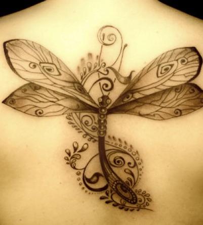 tatuaje-diseños-libelula