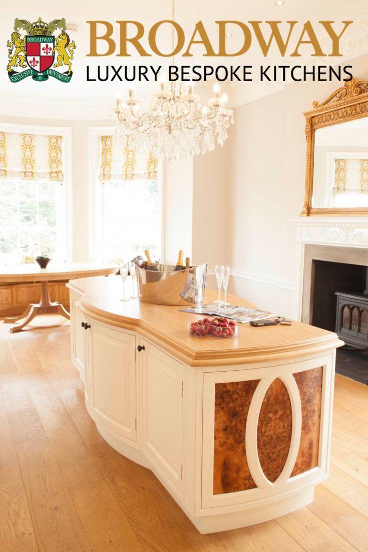 A bespoke Broadway Victorian handpainted kitchen