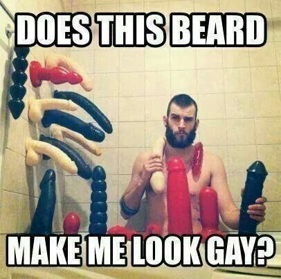 Does this beard make me look gay?