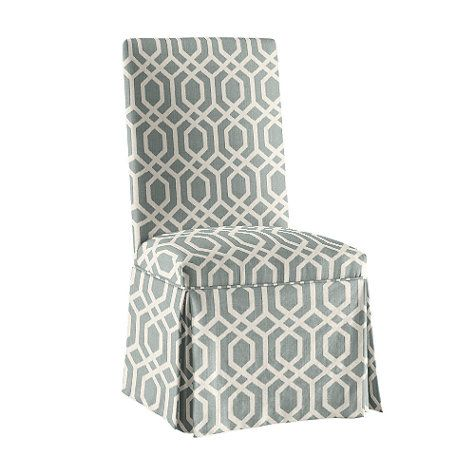 For Head Of Table   Upholstered Parsons Chair Note: For Head Of Table When  Extended, When Not In Use Can Be Used Up Against Window With A Small Table  In ...