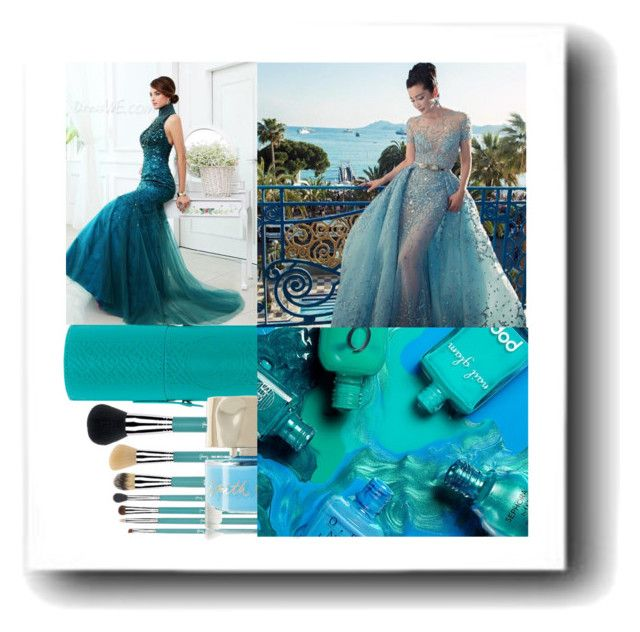 """""""A Study in Blue"""" by shellysioux ❤ liked on Polyvore featuring beauty, Sigma Beauty and Smith & Cult"""