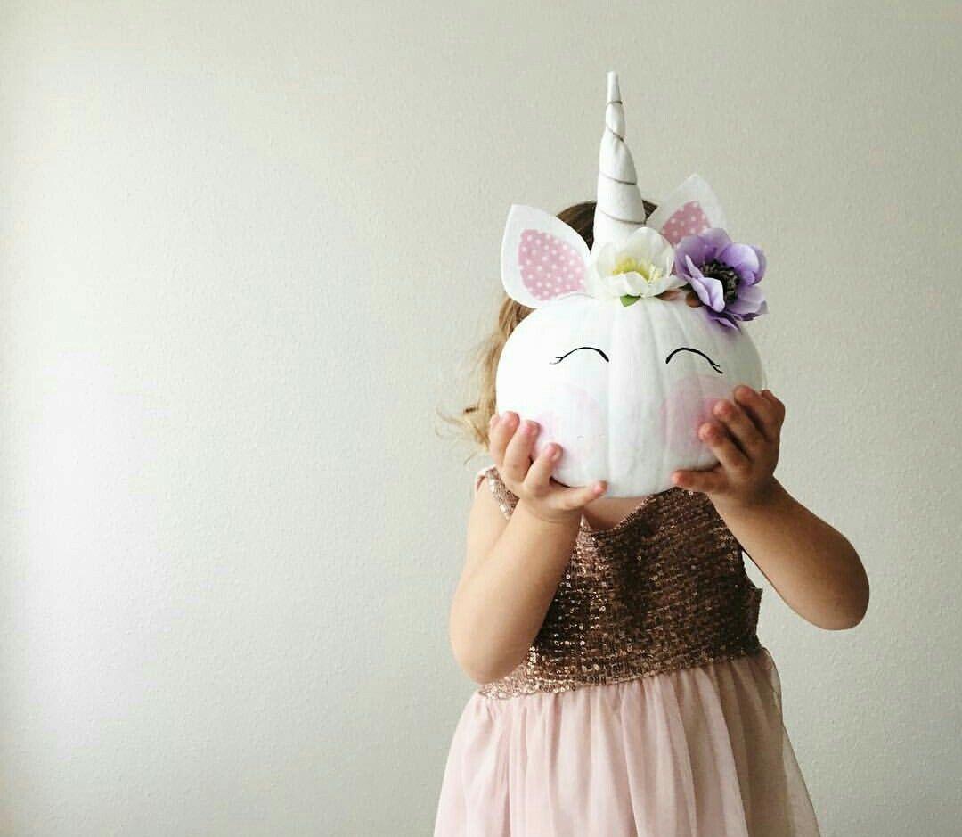 Calabaza unicornio | Fiesta | Pinterest | Unicorns