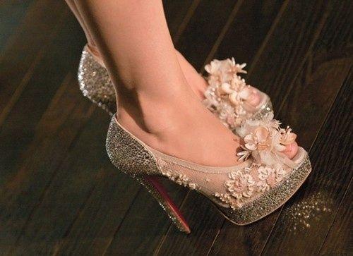 Originales zapatos #bodas #winter #Louboutin #novias #Innovias