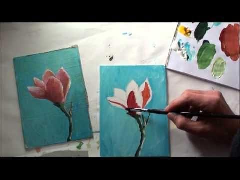 10 Minuten Malerei Delfine Im Sonnenuntergang Youtube
