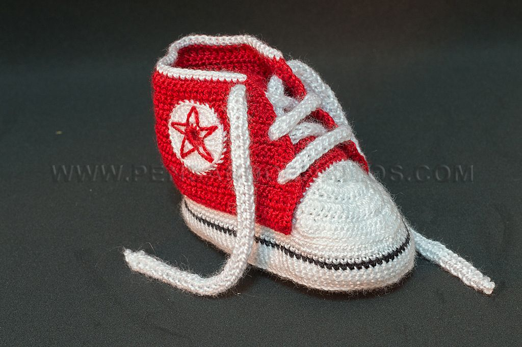 estrella converse crochet