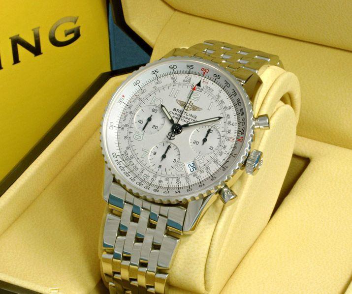 online store 61bcf 982ba ブライトリングナビタイマー 銀 A232G33NP -ブライトリング時計 ...